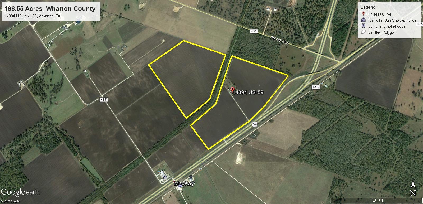 196.55 Acres HWY 59 - 2