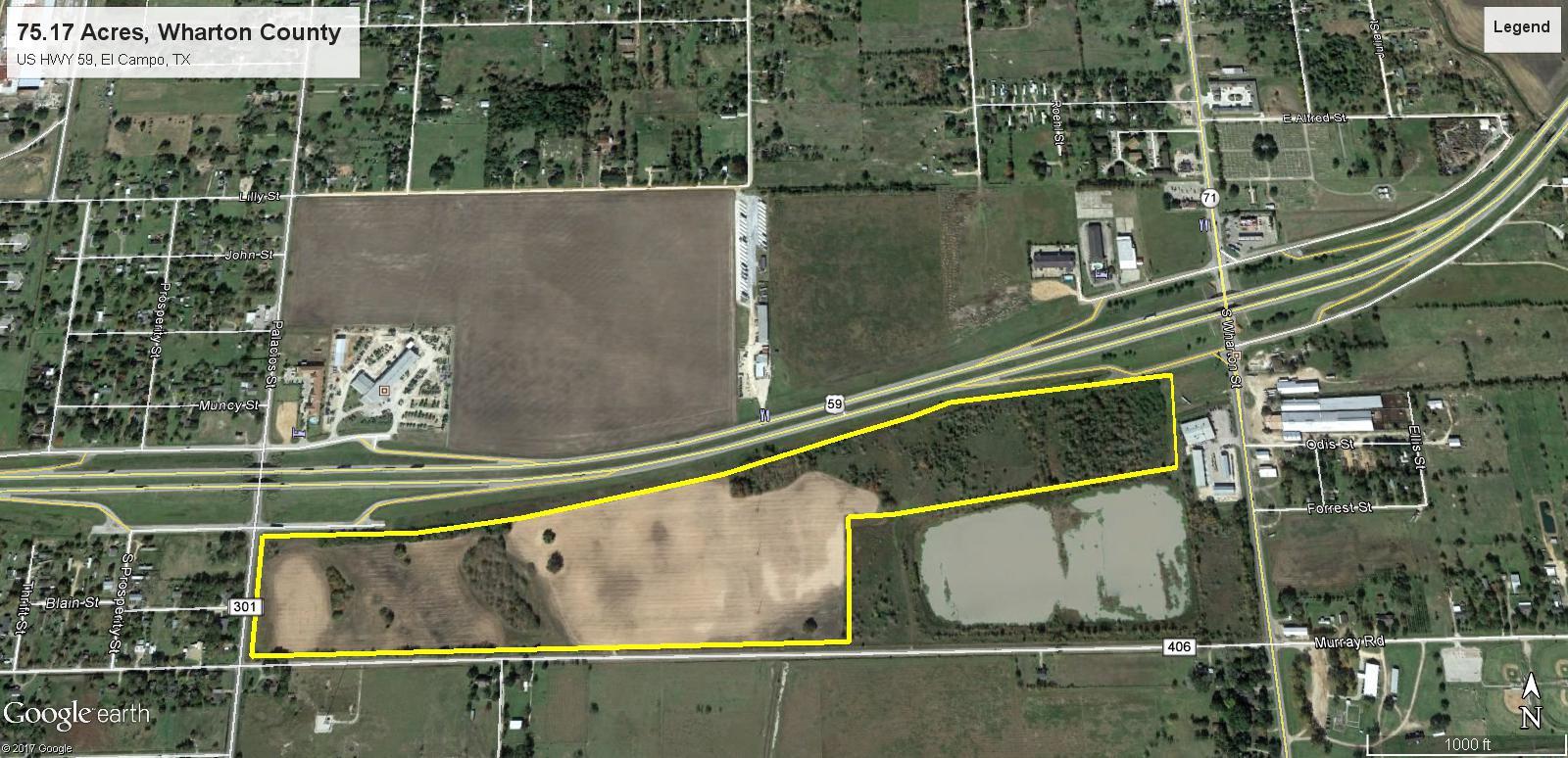 75.17 Acres HWY 59, El Campo